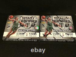 1 New Sealed 2014 Panini Totally Certified Basketball Hobby Box Please Read