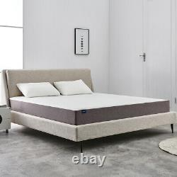 10 Inch King Size Gel Memory Foam Mattress With CertiPUR-US Certified In A Box