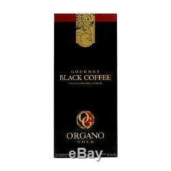 18 boxes Organo Gold Black Coffee w Certified Ganoderma 30 sachets Free Delivery