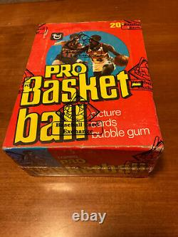 1978-79 Topps Basketball Wax Box BBCE Certified Unopened Vintage Extremely Rare