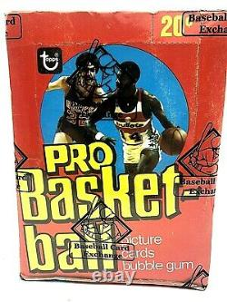 1978-79 Topps NBA Basketball Wax Box BBCE Certified Authenticated Tough Find