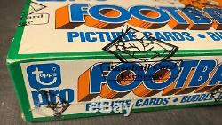1978 Topps Football Unopened Cello Box BBCE Certified Beautiful Condition