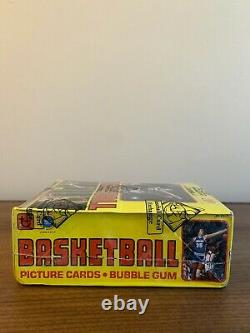 1979-80 Topps NBA Basketball Wax Box BBCE Certified Authenticated CLEAN BOX