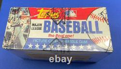 1981 Topps Baseball Sealed 36 Ct Pack Wax Box BBCE Wrapped & Certified