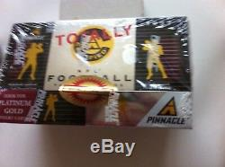 1997 Pinnacle Totally Certified NFL Football Factory Sealed Box -last Box