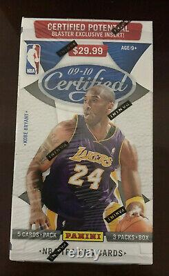 2009/10 Panini Certified Basketball Sealed Blaster Box Curry Harden Griffin