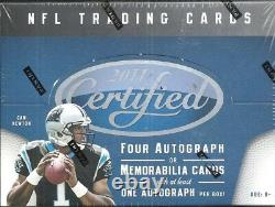 2011 Certified Factory Sealed Football Hobby Box Cam Newton AUTO RC