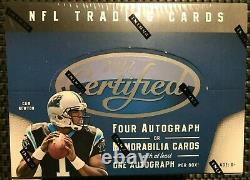 2011 Panini Certified Football Factory Sealed Hobby Box Free Priority Shipping