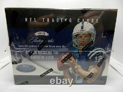2012 Certified Factory Sealed Football Hobby Box 4 HITS! Russell Wilson RC