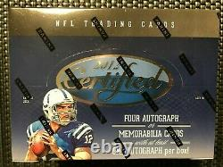 2012 Panini Certified Football Factory Sealed Hobby Box Free Priority Shipping