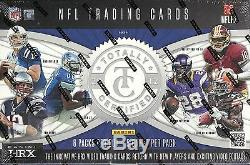 2012 Totally Certified Factory Sealed FB Hobby Box 3 AUTOS Russell Wilson RC