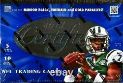 2013 Panini Certified Football Hobby Case 24 boxes