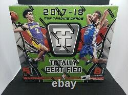 2017-18 Panini Totally Certified Hobby Box Brand New Factory Sealed