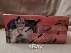 2017 Panini Certified NFL Football Cards Box Factory Sealed