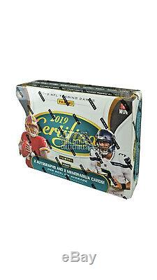 2019 Panini Certified Football Hobby Case 12 Box Factory Sealed