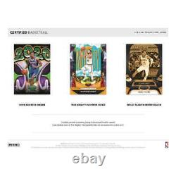 2020-21 Panini Certified Basketball Factory Sealed Hobby Box-in Stock