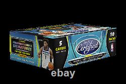 2020-21 Panini Certified Basketball Hobby 12 Box Case Factory Sealed Presale