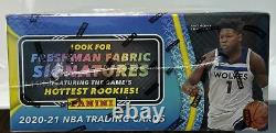 2020-21 Panini Certified Basketball Hobby Box Factory Sealed In Hand