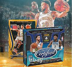 2020-21 Panini Certified T-Mall Asia Exclusive Hobby Box Factory Sealed Preorder