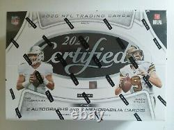 2020 Panini Certified 10 Pack Hobby Box NFL Autos & Relics Available Burrow