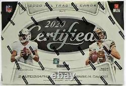 2020 Panini Certified Football Factory Sealed Hobby Box FREE PRIORITY SHIPPING