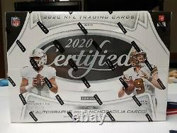 2020 Panini Certified Football Factory Sealed Hobby Box In Stock Free Shipping