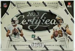 2020 Panini Certified Football Hobby Box Free Shipping In 24 Hours