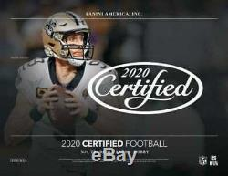 2020 Panini Certified Football Hobby Factory Sealed Box Pre order sale sell