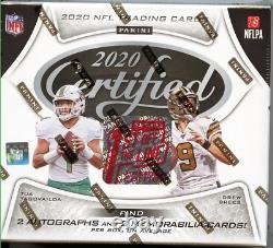 2020 Panini Certified NFL Premium Edition 1st Off The Line Fotl. Sealed