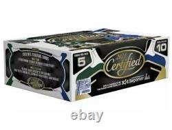 2021 PANINI Certified Football First Off The Line Hobby Box FOTL NFL Sealed