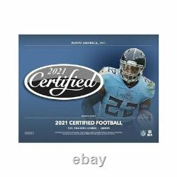 2021 Panini Certified Football Factory Sealed 16 Box Hobby Case Presale