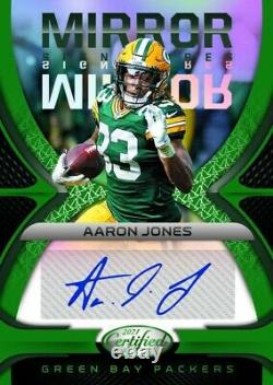 2021 Panini Certified Football First Off the Line (FOTL) Hobby Box