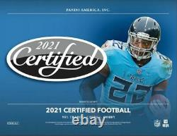 2021 Panini Certified Football Hobby Box Factory Sealed Pre Sale
