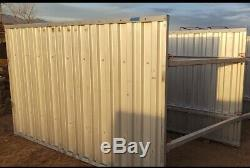 ALL ALUMINUM TRENCH BOX (Certified) 6'Hx10'Lx6'W approx weight 650lbs