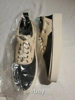 Fear of God 101 Size 46 NEW IN BOX CERTIFIED cream on black