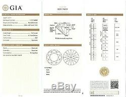 Gia Certified 1.01 Carat Vs2 K Round Loose Diamond Box &papers Blue Nile Perfect