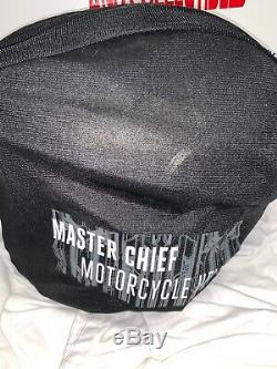 Halo MASTER CHIEF MOTORCYCLE HELMET Size SMALL In Box Neca DOT Certified