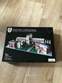 LEGO Certified Professional Exeter Cathedral Extension set 91/500 bright bricks