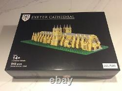 LEGO Exeter Cathedral Bright Bricks LEGO Certified Professional. Collectible