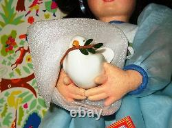 LENCI CLOTH DOLL OF PEACE n. 126 MINT/ORIGINAL BOX NUMBERED & CERTIFIED NRFB