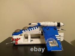 Lego Star Wars Republic Munillist 10 Gunship Moc, Rare Set With Certified LEGO
