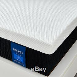 Molblly 10 Inch Memory Foam Mattress with CertiPUR-US Certified in a box, Twin