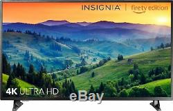 Open-Box Certified Insignia- 50 4K UHD TV Smart LED with HDR
