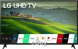 Open-Box Certified LG 43 Class LED 6 Series 4K- 2160p Smart 4K UH