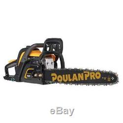 Poulan Pro 20 Bar 50cc 2 Cycle Gas Chainsaw (Certified Refurbished) (Open Box)