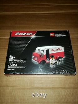 Snap-on Lego Certified Professional 1950s Snap-on Van Tool Truck SSX17P136